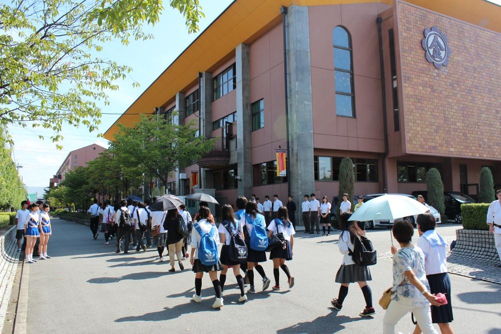 高校サマーオープンスクール   金光大阪中学校・高等学校